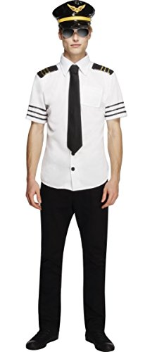 Uniform Captain Stag Do Fever Fancy Dress Costume Outfit M-L (Large) ()