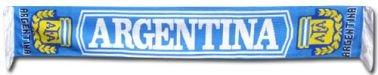 Argentina – Bufanda, diseño de la selección nacional argentina