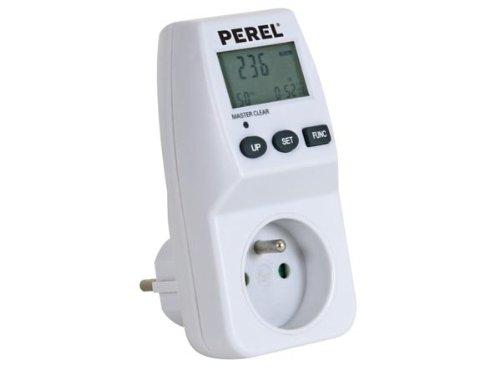Perel E305EM5 Energiekosten Messgerät 230V/16A, Schutzkontakt