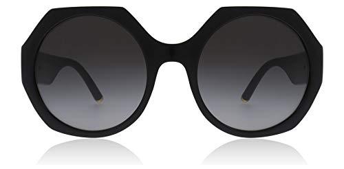 Dolce & Gabbana Damen Sonnenbrille 0DG6120, Schwarz (Black), 54