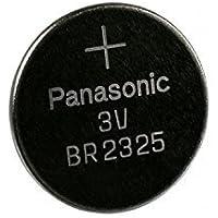 Lotto di 10Panasonic BR2325(CR2325) 3Volt al litio moneta batteria, taglia,
