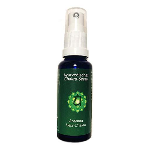 Raumduft Energiespray Herzchakra Anahata 30 ml | Ayurvedische Chakra Holy Scents | Duftspray aus ätherischen Öle | Raumspray Chakra-Sprays | Esoterik Geschenke günstig kaufen -