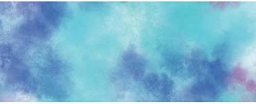 /Ø 17,5 cm 24 St/ück MarpaJANSEN Laternenzuschnitt Transparentpapier Nebel blau