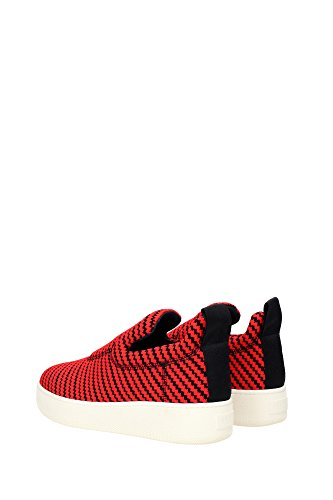 314532HPOC27RB Céline Sneakers Femme Tissu Rouge Rouge