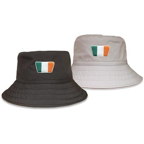 Secchio Cappello Irlanda bandiera–Grigio–Taglia