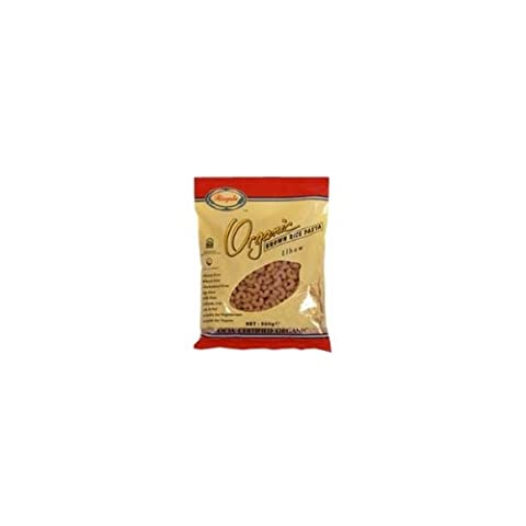 Rizopia Organic Brown Rice Elbows 500g (Pack of 12 )