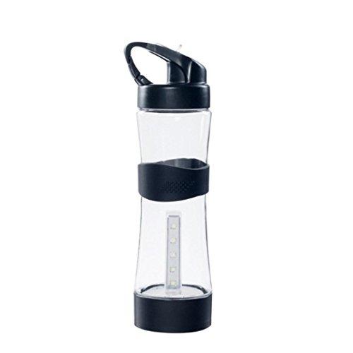 cher,LED USB wiederaufladbare Camping Nacht Camping Multifunktions Beleuchtung Tasse Wasserkocher (BK) ()