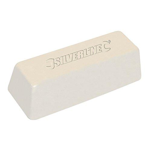 Silverline 107874 Polierpaste, weiß 500 g