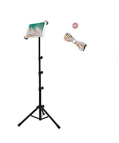 Ruren Ständer für iPad Mini, iPad Air, iPad 1, 2, 3, 4 und alle 17,8-25,4 cm Tablets, Tragetasche und als Geschenk 2 (3 8 1 4 Drehen Sie Das Ventil)