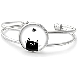 Armband mit cabochon ° Katze °