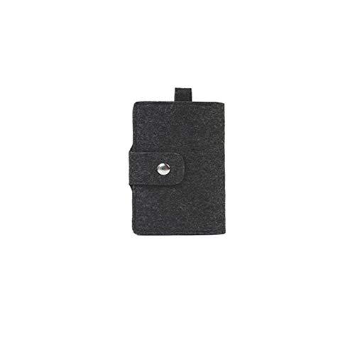 SaixnYz Autoschlüssel Metall Multifunktionsschutzschlüssel Filz Licht Mode Persönlichkeit Reife schöne Schlüssel Paket Karte Tasche Brieftasche, schwarz (Keychain Licht Spaß)