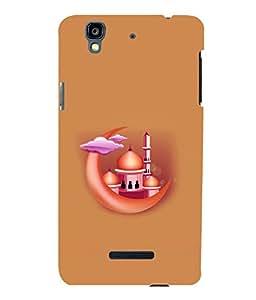 printtech Masjid Moon Back Case Cover for YU Yureka Plus :: Micromax Yureka AO5510