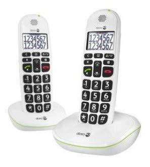 Telefono Doro PhoneEasy 110 inalambrico para personas mayores - Analisis en español