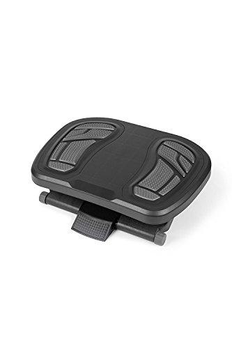 hjh OFFICE 721072 Fußstütze Büro PIEDINO NEO Kunststoff Anthrazit-Grau ergonomisch höhenverstellbar