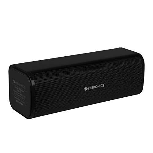 Zebronics Zeb-Vita Portable Bar Speaker with Bluetooth Support, Micro Sd Card, USB Support and Aux Input(Black)