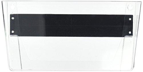 Deflecto Corbeille murale magnétique A4 transparente