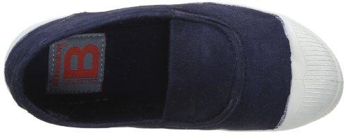 Bensimon Tennis Elastique, Unisex-Kinder Hohe Sneakers Blau - Bleu (Marine 516)
