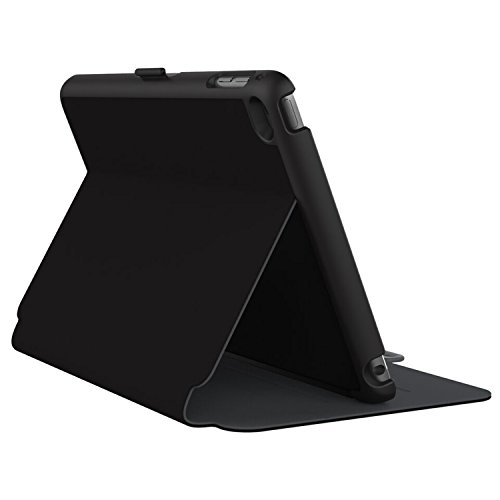 Speck Folio Hülle Case Cover für iPad Mini 4 Black/Slate Grey - Schwarz/Schiefergrau Ipad Mini Speck Folio
