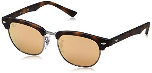 Rayban Unisex Sonnenbrille Rj9050s Mehrfarbig (Gestell: matt havana,Gläser: kupfer 70182Y) Small (Herstellergröße: 45)