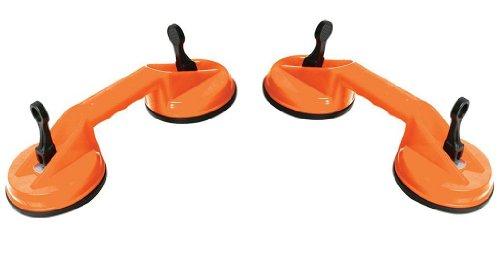 Silverline Tools 675088 - Doppio cuscinetto-ventosa, 70
