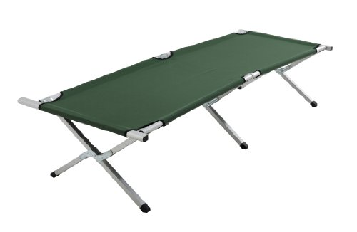 Cao - letto da campo pieghevole, colore verde