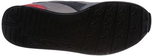 Diadora Camaro, Scarpe Low-Top Unisex – Adulto Multicolore (C3362 Ghiaccio/Nero)