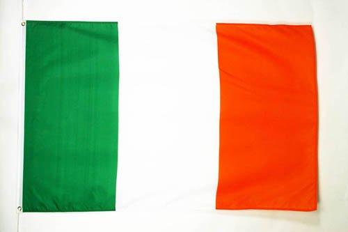 AZ FLAG Flagge Irland 90x60cm - IRISCHE Fahne 60 x 90 cm - flaggen Top Qualität -