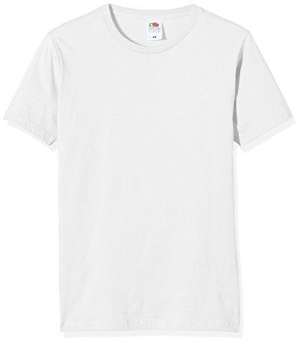 Fruit of the Loom Herren T-Shirt Weiß