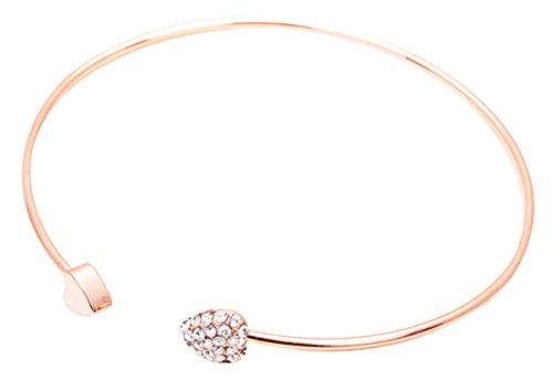 auen nette Schmucksache-Gold füllte Herz-Form-Charme-Armband- ()