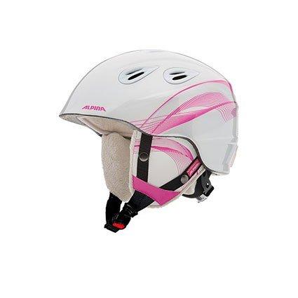 Alpina Kinder Skihelm / Snowboardhelm 'Grap 2.0 Jr.' pink (315) S