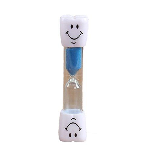 Temporizador de Cepillo de Dientes para niños Reloj de Arena Temporizador de 3 Minutos para cepillar los Dientes de los niños (Color Aleatorio) 1 PC