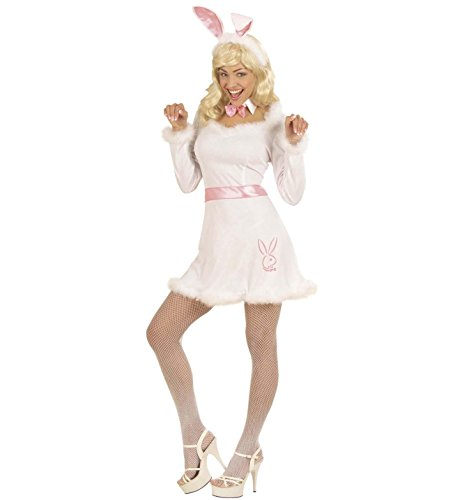 Ladies Bunny Dress Costume Medium UK 10-12 for Animal Jungle Farm Fancy (Kostüm Boy Farm)