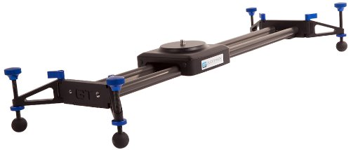Glidetrack Aero - Guida scorrevole per telecamera leggera HD, 0,64 m