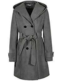Anastasia Women's Hooded Belted Winter Coat