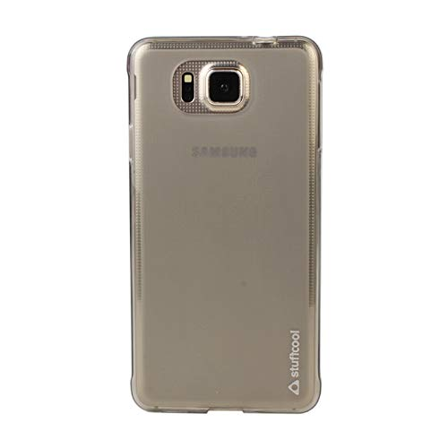 Stuffcool Lisse Soft Back Case Cover for Samsung Galaxy Alpha - Tinted Grey (LSSG850-TGRY)  available at amazon for Rs.249