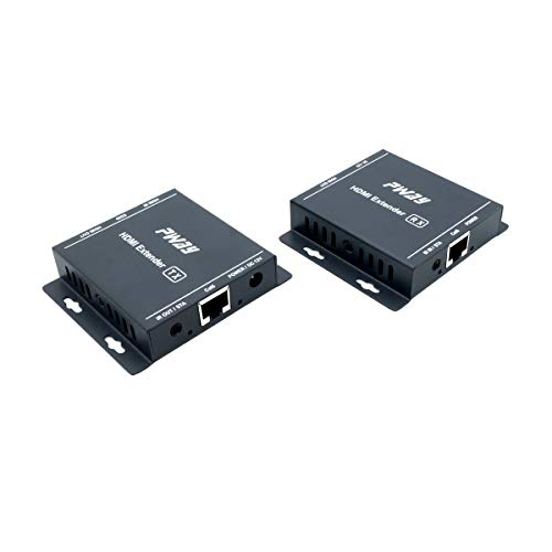 PW-HT217H HDMI-Extender übertragung 60 m (196 ft) HDMI-Signale über Cat5/5e/6/7-Kabel Unterstützung IR,1080P,3D,EDID,Loop Out Ir Über Cat5