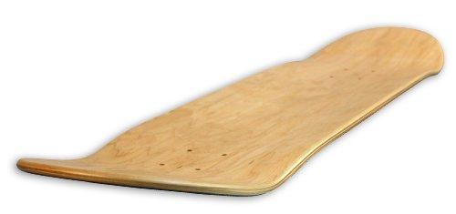 Decks, unbedruckt Warnung Skateboard Deck (Farben können variieren), Natur, 8-inch (Warnung Skateboard Decks)
