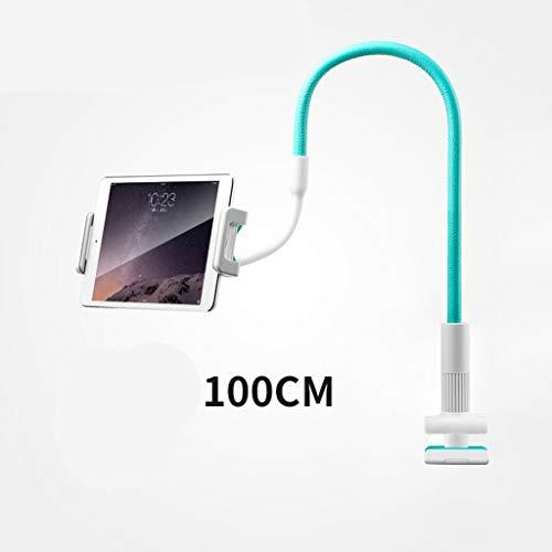 GHMOZ Handy- Und Tablet-Ständer, Verstellbare Und Abnehmbare Halterung Mit Halterung for 4-12,9 Zoll Handy Oder Tablet (Color : Blue, Size : 100cm) (Entsperrt Htc-tablet)