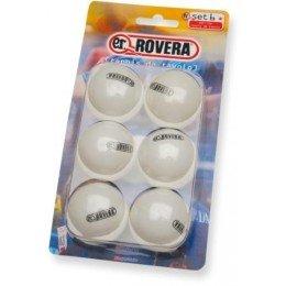 palline per tavolo da ping pong e.r. net 6 pezzi bianche