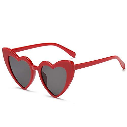 Chudanba love heart occhiali da sole donna cat eye occhiali da sole mirror red white frame occhiali da sole donna,rete c2