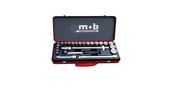 Mob Outillage 9410390001 Coffret de douilles et embouts de vissage 39 pi/èces