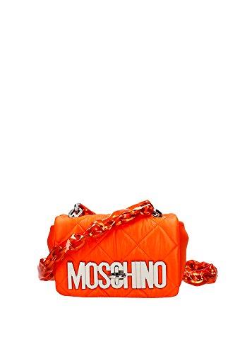 751482061125 Moschino Sac à bandoulière Femme Cuir Orange Orange