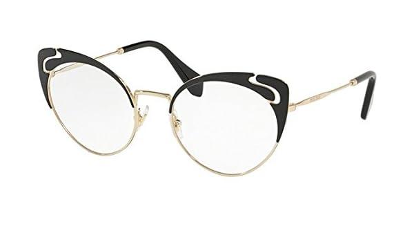 miu miu Occhiali da Vista NOIR EVOLUTION VMU 50R BLACK donna
