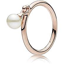 Pandora Women Gold Plated Stacking Ring - 187525P-56