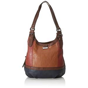 TOM TAILOR Shopper Damen, Juna Flash, 31x29x14 cm, TOM TAILOR Schultertasche, Handtaschen Damen