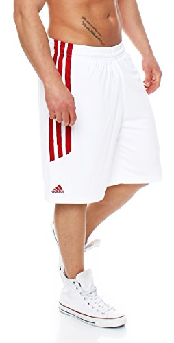 Adidas E Kit 2.0 Short Herren Shorts Basketball (3XT, white/univerred )