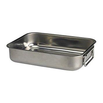 IKEA KONCIS - Roasting tin, stainless steel - 26x20 cm