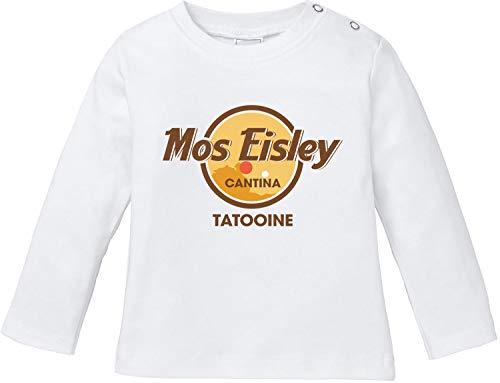 AngryShirts Mos Eisley Cantina T-Shirt Baby Langarm Bio Baumwolle