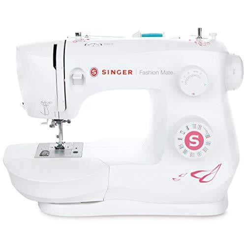 SINGER Fashion Mate - Máquina de coser (Máquina de coser automática, Blanco, Costura, Paso 4, Variable, palanca, Giratorio)