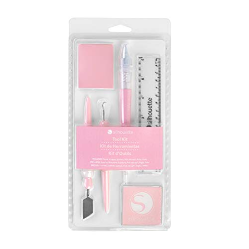 Kit outils pour silhouette 'silhouette ' Rose 6 Pièces
